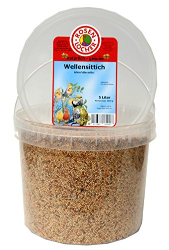 Wellensittichfutter 3,5kg/5L