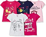 #8: Donuts Baby Girls' T-Shirt (Pack of 5)(273735328_Assorted_18M)