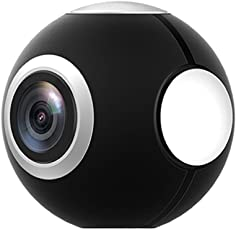 Podofo Mini HD Panoramic 360 Degree Camera Wide Dual Angle Fish Eye Lens VR Video Camera for Smartphone Type-c USB Sport & Action Cam