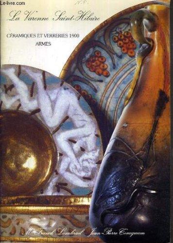 CATALOGUE DE VENTE AUX ENCHERES - SAINT MAUR - ARMES A FEU DES XVIIIe et XIXe SIECLES - ARMES BLANCHES - VERRERIES ET CERAMIQUES DE L'EPOQUE 1900/1925 - BRONZES - 8 AVRIL 1990. - Bronze 8 Arm