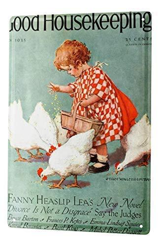 qidushop Children Little Girl Feeding The Poulailler...