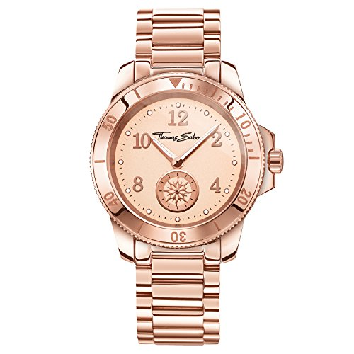 Thomas Sabo Watches, Orologio da donna GLAM CHIC, Acciaio