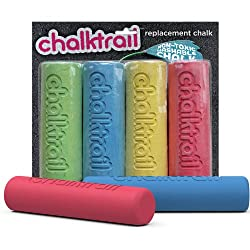 Fat Brain Toys Chalktrail Chalk, Multi Color