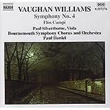 Vaughan Williams: Symphony No. 4; Flos Campi