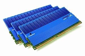 Kingston KHX1600C9D3T1K3/6GX Mémoire RAM DDR3 1600 6 Go KVR CL9 HyperX XMP Tall HS Kit3