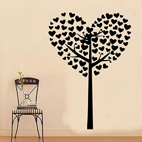Liebe Baum Wandaufkleber Von Einrichtungs Dekorative Wandaufkleber Home Decora Wohnzimmer Schlafzimmer Diy Wandkunst Aufkleber Wandbilder 58 cm X 82 cm - Louis Köln Vuitton
