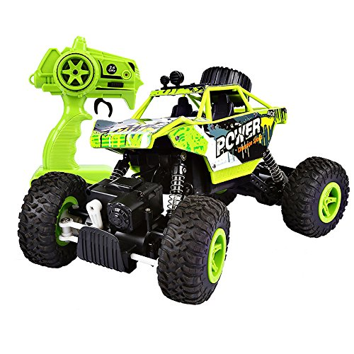 SainSmart Jr. RC Rock Crawler Monster Truck 1:18 Off Road Vehicle 2.4Ghz 4WD Race Car Dune Buggy Remote Control