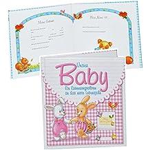 Fotoalbum Babyalbum Storch Album Bilder Unser Enkelkind Geschenk Geburt Fotobuch
