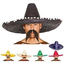 Guirca 13655 - Sombrero Mexicano Paja 60 Cms. Paja 51255aa9661