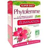 SuperDiet Phytofemme 45 + Frêne Elimination Bio 120 comprimés