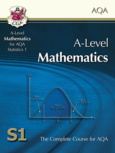 AS/A Level Maths for AQA - Statistics 1: Student Book Cover Image