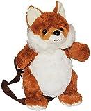 Rucksack Fuchs - Plüsch Kinderrucksack / Plüschtier Tier Tiere - Kinder Kindergartenrucksack - Kindertasche / Mädchen & Jungen - Plüschtiere Füchse Tierrucksack