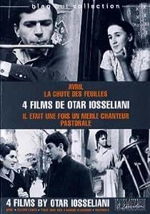 Coffret otar iosseliani : avril ; la chute des feuilles ; il était une fois un merle chanteur ; pastorale