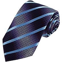 DAA7A04-06 Comfort Padre Stripes Tie microfibra Affari cravatteria di Dan Smith