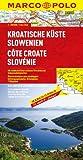MARCO POLO Karte Kroatische Küste, Slowenien (MARCO POLO Karten 1:300.000) - Polo Marco