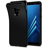 Spigen Liquid Air Cover Samsung Galaxy A8 2018, Massima Protezione da Cadute e Urti, Nero