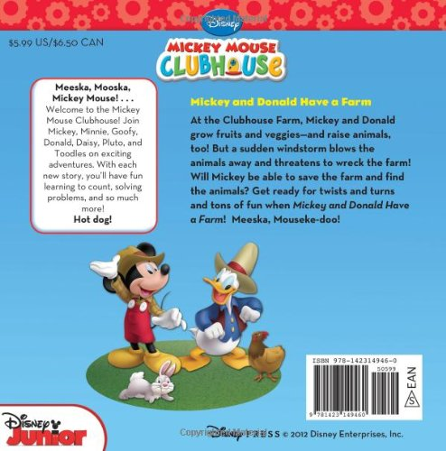 Image of Mickey Mouse Clubhouse Mickey and Donald Have a Farm