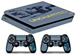 Skin Ps4 SLIM - UNCHARTED BUNDLE - limited edition DECAL COVER Schutzhüllen Faceplates playstation 4 SONY BUNDLE