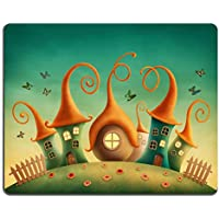 Mousepads fantasy Houses nel prato Image ID 28718525 by Liili Customized Mousepads Stain Resistance Collector kit Kitchen Table top Desk drink Customized Stain Resistance Collector kit Kitchen Table top Desk