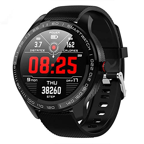 Senbos Montre Connectée Bluetooth Smartwatch Montre De Couleur Tactile De 1.3″ IP68 Connexion...