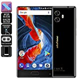 Ulefone MIX, 4G Smartphone 5.5 inch Bezel-free Corning Gorilla Glass 3 Screen with Android 7.0 Octa Core 1.5GHz 4GB RAM 64GB ROM, Triple cameras (13MP+5MP+13MP) 3300mAh Battery Fingerprint Wifi