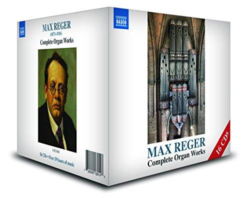Max Reger: Sämtliche Orgelwerke (Video-sammlung)