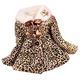Search : Koly Baby Girls Kids Toddler Leopard Outwear Clothes Winter Jacket Coat Snowsuit