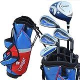 ragazzo e ragazza set completo mazze da golf con borsa per mazze da golf completo set completo set da golf per bambini spedizione gratuita, Pink