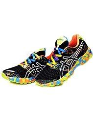 Hombre ACOLCHADO Gel Noosa TRI 8Trail carretera Running Sport Competencia de Carreras de zapatos calzado zapatillas en camuflaje amarillo, hombre, Camouflage Yellow, EUR44