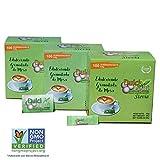 DULCILIGHT STEVIA NATURALE 300 bustines, DOLCIFICANTE GRANULATO con il miglior sapore di stevia, prodotto della categoria Gourmet, confezione da 3 astucci x 100 C/U
