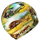 EveryKid Maximo Jerseymütze im Coolen Tierdesign Mädchenmütze Jerseybeanie Kindermütze Übergangsmütze UV Schutz 50 (MX-53500-919000-S17-MA1-63-53) in Safari, Größe 53 inkl Fashionguide