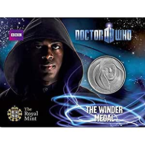 Doctor Who The Winder Medal by The Royal Mint