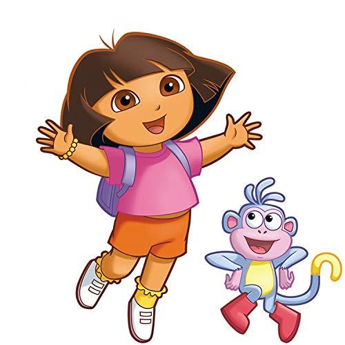 Stiefel Aus Dora The Explorer - Nickelodeon Fathead Disney Dora The Explorer