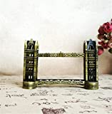 youjiu Suerte Mopec Decorativas Londres Tower Bridge Modelo Metal Crafts 16 * 5.5 * 11Cm
