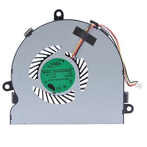 CPU Cooling Fan For Dell Inspiron 15R 17 17R 3521 3721 5521 5535 5721 74X7K 074X7K DFS470805CL0T Not fit For N5010 N5110 N7010 N7110  available at amazon for Rs.399