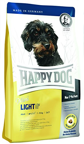 Happy Dog 60101 Hundefutter Mini Light Low Fat, 4 kg, L