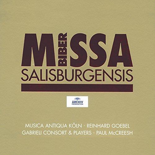 Biber: Missa Salisburgensis /Musica Antiqua Köln · Gabrieli Consort & Players · McCreesh Test