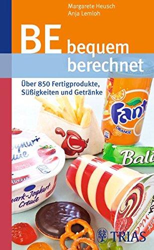 BE bequem berechnet: Über 850 Fertigprodukte, Süßigkeiten und Getränke - Getränke-einheit