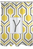 Telecharger Livres Manuel Woodworkers et Weavers Rideau de douche ornee d un Monogramme Lettre Y Jaune Nid d abeille (PDF,EPUB,MOBI) gratuits en Francaise