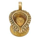 Hindusim Decoration Aarti Diyas Brass,Ha...
