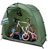 Rob McAlister Ltd Tidy Tent With Anka Point Inc. Lightweight Unisex Outdoor Tidy Tent available in Green - 3 Bicycles