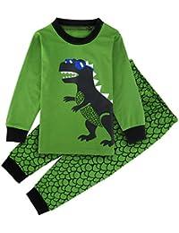 Mombebe Enfant Garcons Dinosaure Pyjama Ensembles Vêtements De Nuit