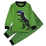 Mombebe Bambini Ragazzi Dinosauro Pigiama Set (Dinosauro 2, 4 Anni)