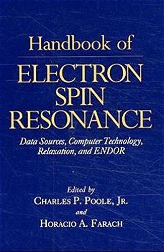 Handbook of Electron Spin Resonance: Vol. 1