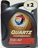 Lubricante motor TOTAL QUARTZ 9000 energy 5W-40 10 litros (2x5 lt)