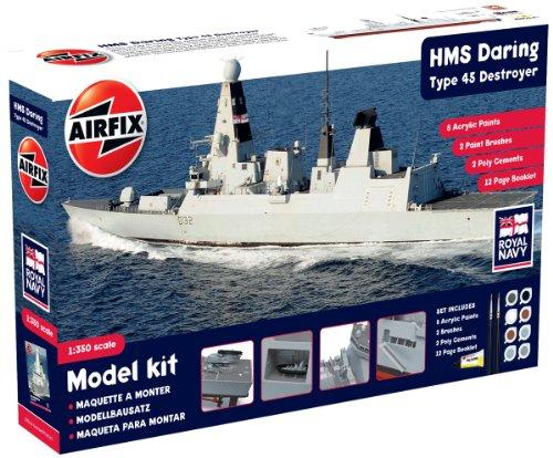 Airfix A50132 Modellbausatz HMS Daring - Type 45 (new tool)
