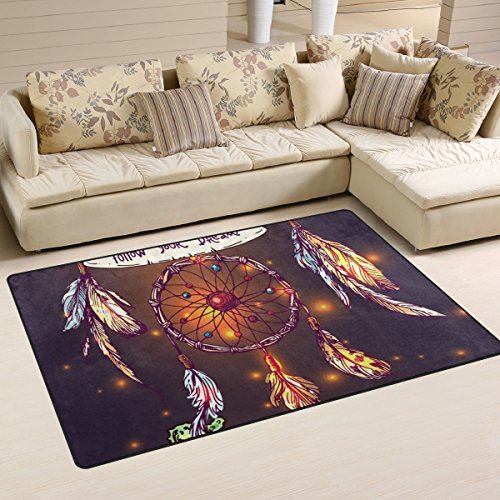 ingbags Super Weiche Schöne Moderne Boho Stil Traumfänger, ein Wohnzimmer Teppiche Teppich Schlafzimmer Teppich für Kinder Play massiv Home Decorator Boden Teppich und Teppiche 78,7x 50,8cm