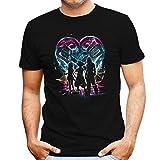 Kingdom Hearts Trio Rainbow Men's T-Shirt