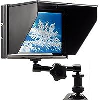 Viltrox DC-90 HD 8.9'' Montieur LCD TFT HD clip- on 1920x1200 pixels avec entrée AV/HDMI et sortie HDMI pour Canon Nikon caméra DV+ Bras magique 7''