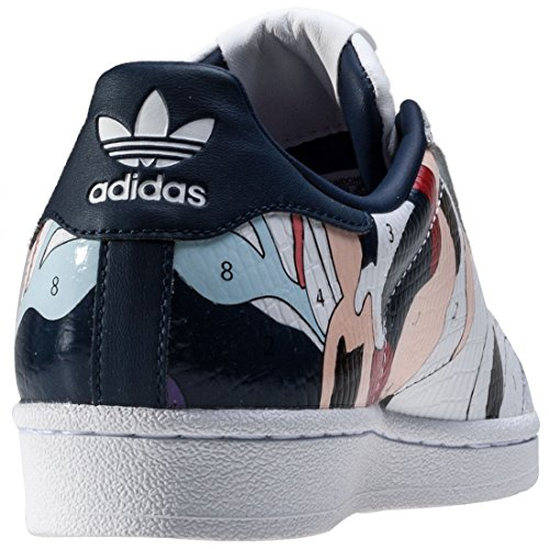 adidas Superstar Rita Ora W, Sneakers Femme blanc bleu